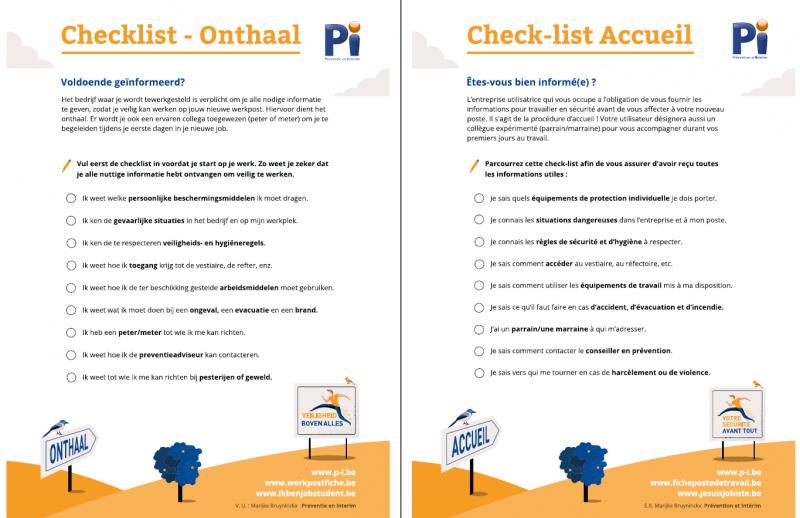 Checklist Intérimaire